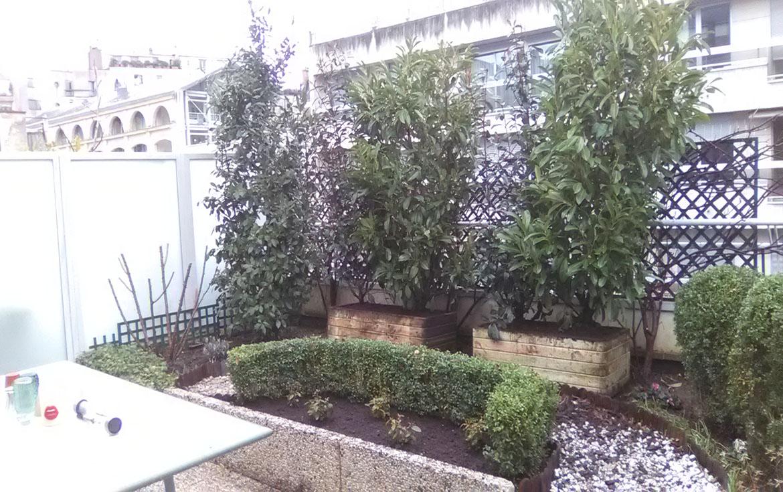 entretien d'un balcon