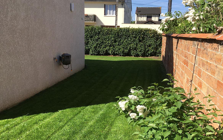 Entretien régulier d'un jardin